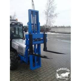"""Palečių krautuvas montuojamas traktoriaus priekyje """"MCMS PHW"""""""