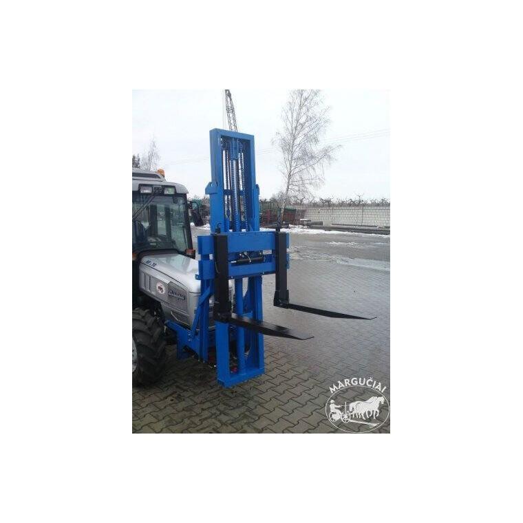 """Palečių krautuvas montuojamas traktoriaus priekyje """"MCMS, PHW"""""""