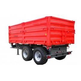 """Priekabos, puspriekabės """"UMEGA"""", 14000 kg."""