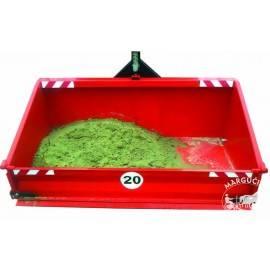 """Transportavimo kaušas / dėžė su išvertimu """"AGRO - FACTORY"""""""