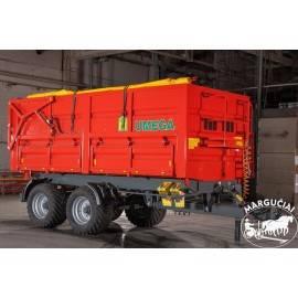 """Priekabos, puspriekabės """"UMEGA"""", 16000 kg."""