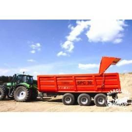 """Puspriekabė """"UMEGA"""", 30000 kg."""