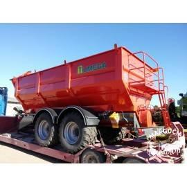 """Grūdų perkrovimo puspriekabė """"UMEGA"""", 17000 kg."""