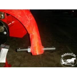 """Būgninės šienapjovės """"LISICKI"""", 1,35 m., 15 AG traktoriukui"""