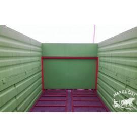 """Mėšlo kratytuvas """"Jol-Met"""", 8000 kg."""