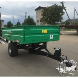 """Puspriekabės mini traktoriams """"Agma"""", 1500 - 4000 kg."""