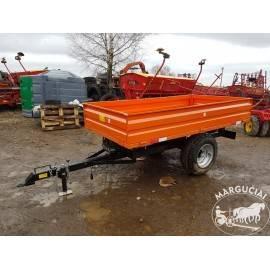 """Puspriekabės mini traktoriams """"Agma"""", 500 - 4000 kg."""