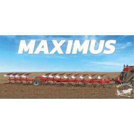 """Vartomas plūgas """"Akpil Maximus HP"""" su hidrauline apsauga nuo akmenų"""