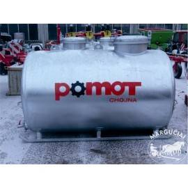 "Stacionarios vandens talpos ""POMOT"", 1000 - 5000 ltr."