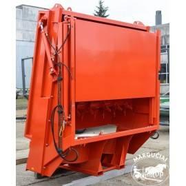 "Puspriekabė / mėšlo kratytuvas ""UMEGA"", 20000 kg."