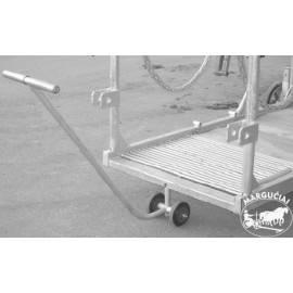 """Veterinarinis sutramdymo gardas/vežimėlis """"Rolstal PW-2"""""""
