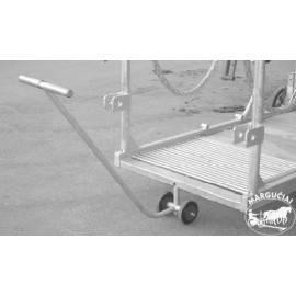 """Veterinarinis sutramdymo gardas/vežimėlis """"Rolstal PW-3"""""""