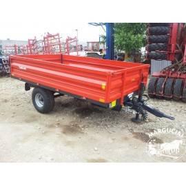 "Puspriekabė ""Metal-Fach"", 2500 kg."
