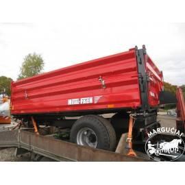 "Puspriekabė ""Metal-Fach"", 3800 kg."