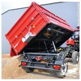 """Priekabos, puspriekabės """"Metal-Fach"""", 8000 kg."""