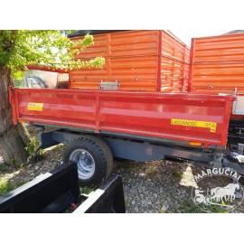 """Puspriekabė """"MCMS"""", 3000 kg."""