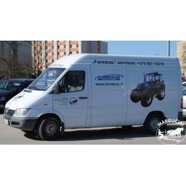 """Techninių aptarnavimų kainos traktoriams """"FARMTRAC EURO IIIB"""""""
