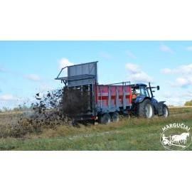 """Mėšlo kratytuvas """"Metal-Fach"""", 10000 kg."""