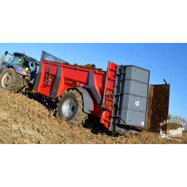 """Mėšlo kratytuvas """"Metal-Fach"""", 18000 kg."""