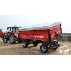 """Priekabos """"Metal-Fach"""", 6000 kg."""