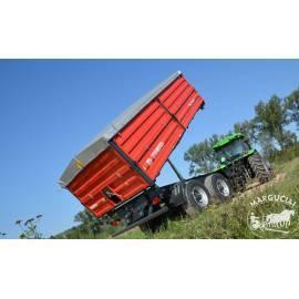 """Priekabos, puspriekabės """"Metal-Fach"""", 14000 kg."""