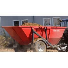 "Puspriekabė ""Metal-Fach"", 6000 kg."