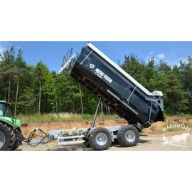 "Puspriekabė ""Metal-Fach"", 16000 kg."