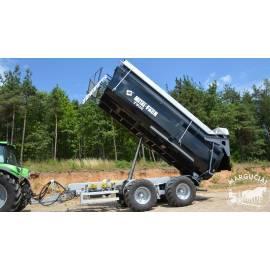 "Puspriekabė ""Metal-Fach"", 18000 kg."