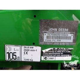 "Savaeigė vejapjovė ""John Deere 7500 PrecisionCut"", 37 AG"
