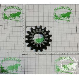 Mažas dantratis Z16, su šlicais, tiesus, vidus Ø 45 mm., 0545/02.00.002/4