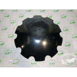 """Lėkštinio skutiko lėkštė, karpyta ø 610x4,5 mm. (5x10), (skirta netepamoms guoliavietėms) """"Rol/Ex Taurus"""""""