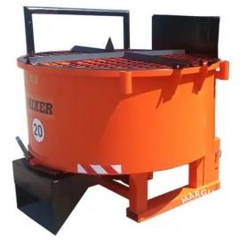 """Pašarų - betono maišyklės """"Agro-Factory II"""""""