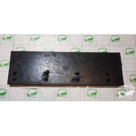 """Buldozerio """"Pronar PU 3300"""" guma ilgis/plotis/aukštis 74,5/5/22 cm."""