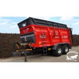 """Mėšlo kratytuvas """"Metal-Fach"""", 14000 kg."""