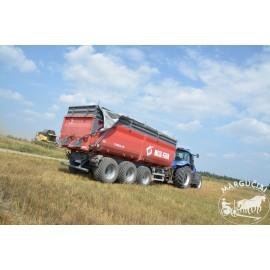 "Puspriekabė ""Metal-Fach"", 27000 kg."