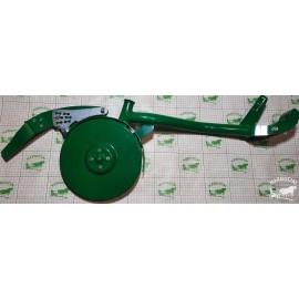 """Diskinės sėjamosios """"Agro-Masz"""" trumpa koja, dešinės p., sulenktas (90mm) su dvigubu disku"""