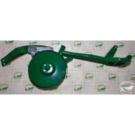 """Diskinės sėjamosios """"Agro-Masz"""" trumpa koja ,kairės p., sulenktas (30 mm) su dvigubu disku"""