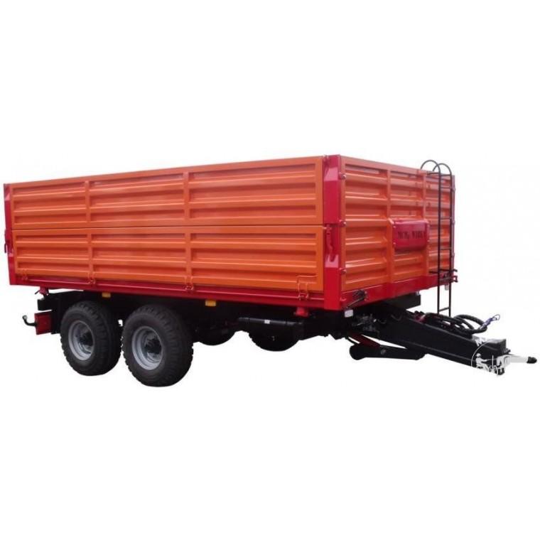 """Puspriekabės """"MCMS"""", 6500 kg."""