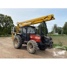"""Traktorius su bokšteliu """"Valmet 705 PowerPlus"""", 90 AG"""