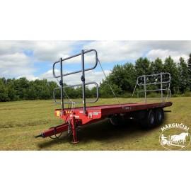 """Priekabos, puspriekabės rulonams vežti """"Metal-Fach"""", 12250, 12500 kg."""