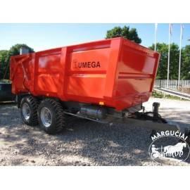 """Priekabos, puspriekabės """"UMEGA"""", 10000 kg."""