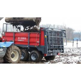 """Mėšlo kratytuvas """"Metal-Fach"""", 6000 kg."""