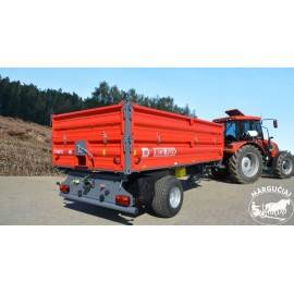 "Puspriekabė ""Metal-Fach"", 5000 kg."